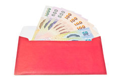 Money gift in envelope Royalty Free Stock Photography