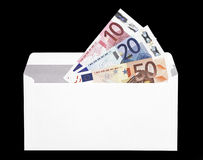 Money Gift In Envelope Royalty Free Stock Images