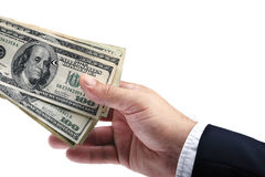 Money gift two Stock Image