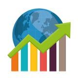 Money and global economy Stock Image