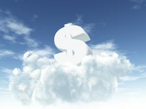 Money is the god Royalty Free Stock Images
