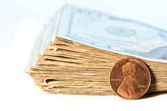 Money, in God we trust Stock Images