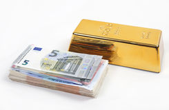 Money or gold Stock Photo