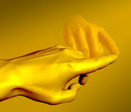 MONEY GOLDEN MIDAS TOUCH Stock Photos