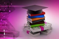 Money for graduation or training Stock Photo