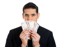 Money, greed, politics Stock Photo