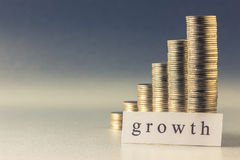 Money growth Stock Images