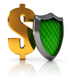 Money guard Stock Image
