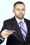 Money in hand Stock Photo