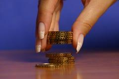 Money and hand Stock Photo