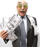 Money Happy Stock Images