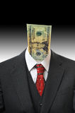 Money Head Stock Image