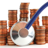 Money health Royalty Free Stock Images