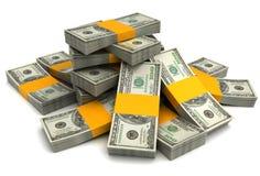 Money heap Stock Photo