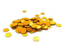 Money heap Stock Images