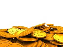 Money heap Stock Images