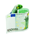 Money heart Royalty Free Stock Images