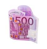 Money heart Stock Image