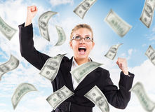 Money from Heaven stock photography