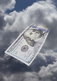 Money from the Heavens. Stock Photography