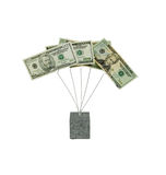 Money holder Royalty Free Stock Images