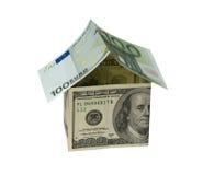 Money home Stock Photos