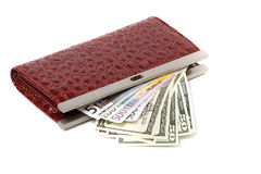 Money from Home. The money for the household Royalty Free Stock Image