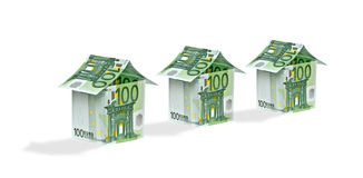 Money homes Stock Images