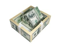Money house. Royalty Free Stock Photo