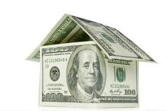 Money house Royalty Free Stock Photo