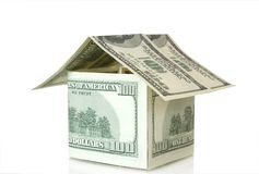 Money house stock image