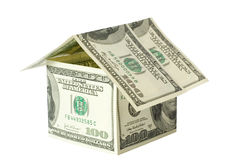 Money house Royalty Free Stock Photo