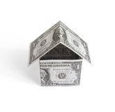 Money house Royalty Free Stock Photos