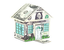 Money House Concept Royalty Free Stock Images