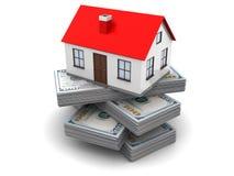 Money for house stock illustration