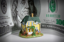 MONEY HOUSE HOME ESTATE INVESTMENT SAVING Royalty Free Stock Photo