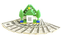 Money for house Royalty Free Stock Photo