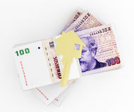 Money for house Stock Images