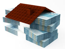 Money for house Stock Photography