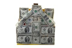 Money in housing Royalty Free Stock Photography