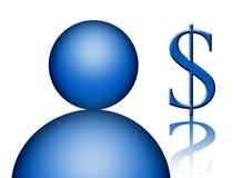 Money icon Royalty Free Stock Photo