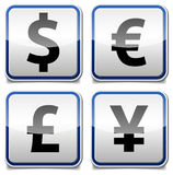 Money icon board Stock Images