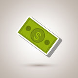 Money icon design Royalty Free Stock Photography