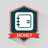 Money icon Royalty Free Stock Photos