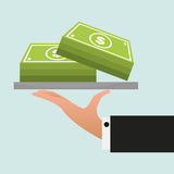 Money icon Royalty Free Stock Photo