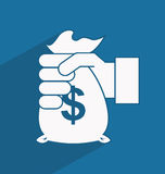 Money icon Stock Photo