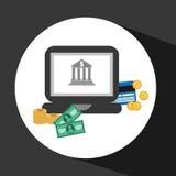 Money icon Stock Image