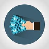 Money icon Royalty Free Stock Image