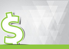 Money icon dollar Royalty Free Stock Photography