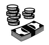 Money Icon. This is file of EPS10 format Stock Photography